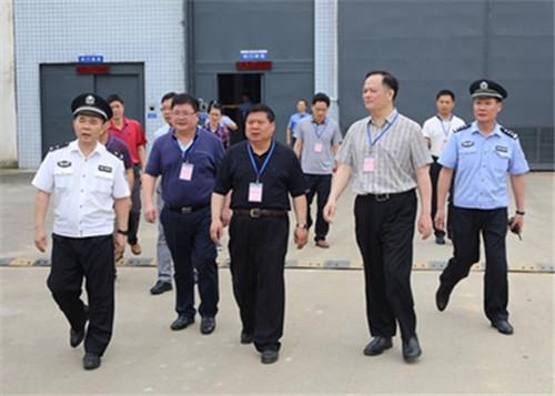 【北江监狱】全省2018年监狱理论课题第一、二组联合调研会议在北江监狱召开